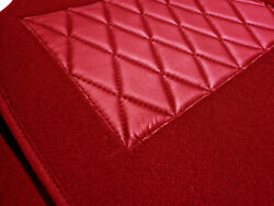 Dark Red Velours Carpet Kit For Mercedes W123 Coupe 77-85 230c-230ce-280ce-300cd