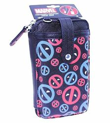 Marvel Deadpool Crossbody Wristlet Phone Case amp; Wallet NEW WITH TAGS $13.49