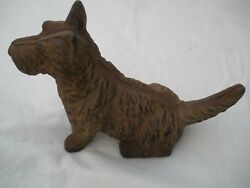 Vintage Cast Iron Scotty Scottie Scottish Terrier