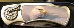 American Eagle Knife in Collectors Tin. NEW