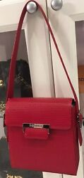 YVES SAINT LAURENT Red Leather bag $719.99