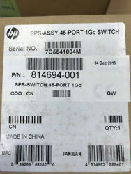 814694-001 710601-002 Hp 45 Port 1gc Switch New Andndash Inc Vat Warranty Delivery