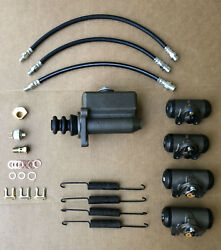 1939-1952 Ford Big Truck F-4 F-5 F-6 Brake Master And Wheel Cylinder Package
