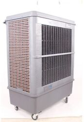 Hessaire Portable Evaporative Cooler 3-Speed Patented Axial Propeller Gray