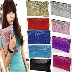 Women Wallet Fashion Sparkle Spangle Clutch Purse Evening Bags And Clutches Lady