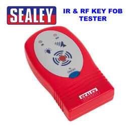 Sealey Vs921 Infrared Radio Frequency Ir And Rf Car Key Fob Tester Brand New