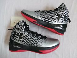Under Armour UA Clutchfit Drive III 3 Stephen Steph Curry DS NEW size 11 silver