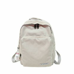 Vintage Fashion Canvas Backpacks for Teenage Girls Middle School Students School