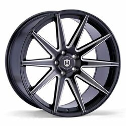 20x10.5 5x108 CURVA C49 BLACK MADE FOR FORD JAGUAR VOLVO