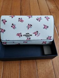 NWT Coach Boxed Floral Bloom Phone Crossbody Style 28328B
