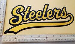 Huge Pittsburgh Steelers Iron-on Patch - 4.5 X 10