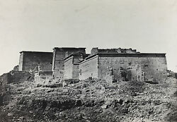 Maxime Du Camp Grand Temple Dand039isis Egypt 1849 / Salted Paper Print / Credited