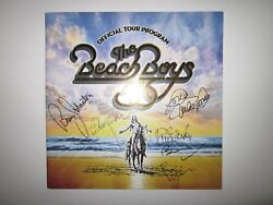 The Beach Boys Official Tour Program 50th Anniversary Autographed New