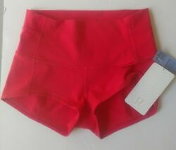 NWT Lululemon women Wunder short inseam 2