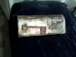 Antique Sears And Roebuck Metal Mailbox