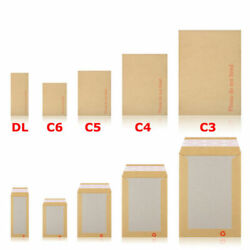 Hard Board Backed Envelopes 'please Do Not Bend' A6 / C6 - A5 / C5 - A4 / C4