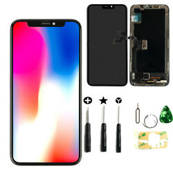 For Iphone X 5.8and039and039 Lcd Touch Screen Digitizer Assembly Display Replacement Black