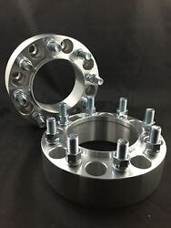 2 Hubcentric Wheel Spacers Adapters Andbrvbar 8x6.5 8x165.1 Andbrvbar 14x1.5 Andbrvbar 2.5 Inch 64mm