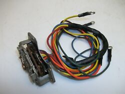 1951 1952 Kaiser Turn Signal And Directional Switch And Harness Std. And O.d. Trans