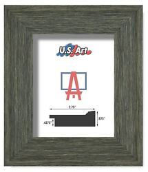 Us Art Frames 2.75 Heavy Textured Hay Green Barnwood Polystyrene Picture S/ A