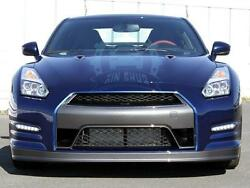 Car Part Carbon Fiber Front Bumper Protector Bodykit Refit For Nissan GTR R35
