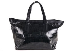 Givenchy Womens Black Leather Nylon Tote Bag RTL$2200