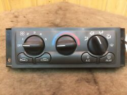 1997-99 Chevy Venture Silhouette Used OEM Heat Air Climate Temp Control Switch