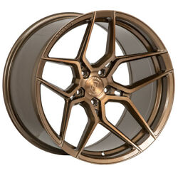 20 Rohana Rfx11 Bronze Forged Concave Wheels Rims Fits Lexus Is250 Is350
