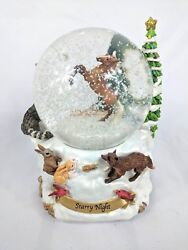 Breyer Horses Starry Night  Musical Snow Globe 2011 9th in series Christmas