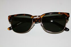 Rio Ray quot;Cat#x27;s Eyequot; Like Tortoise Sunglasses Style: R302 Clear Water $55.00