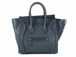CELINE Blue Mini Luggage ~ Heavenly blue and an enduring design!