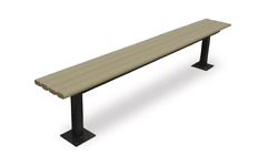 Recycled Plastic Park Bench - Liberty Bench