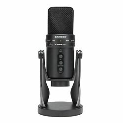 SAMSON G-Track Pro Studio USB Condenser Microphone Mic+Built in Audio Interface
