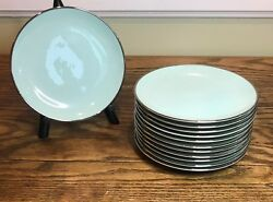Franciscan Dawn Bread Plate Set Of 12 Interpace Masterpiece China Discontinued