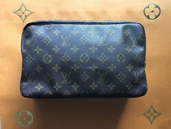 Authentic Louis Vuitton VINTAGE Cosmetic Toiletry Bag ~ Made In France