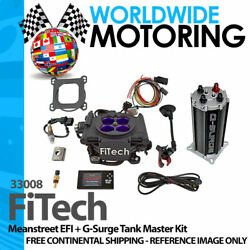Meanstreet Efi + G-surge Tank Master Kit 33008 By Fitech