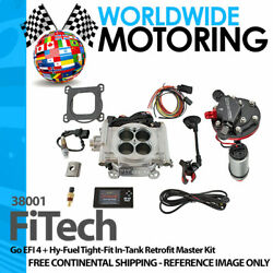Go Efi 4 + Hy-fuel Tight-fit In-tank Retrofit Master Kit 38001 By Fitech