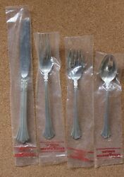 Reed And Barton 18th Century Sterling Silver - 6 4-pc. Plc Settings Never Used