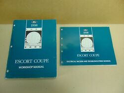 1998 Ford Escort ZX2 Coupe Factory Shop Service Repair Manual Set Free Shipping