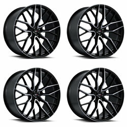 20 Savini Sv-f2 Tinted Forged Concave Wheels Rims Fits Ford Mustang Gt Gt500