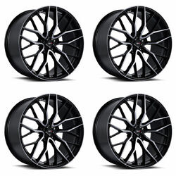 20 Savini Sv-f2 Forged Tinted Concave Wheels Rims Fits Honda Accord Coupe