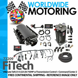 Ultimate Tall Ls1/ls2/ls6 750hp W/transcontrol +command Center 2 72209 By Fitech