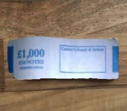 Andpound10 Note Money Bands Uk Money Straps Select Quantity - 100 Satisfaction