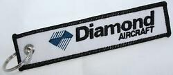 Diamond Aircraft Logo Keychain For Pilots Owners