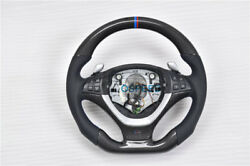 Carbon Fiber Customized Steering Wheel With Shift Paddle For Bmw X5 E70/ X6 E71