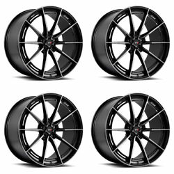 19 Savini Sv-f1 Tinted Forged Concave Wheels Rims Fits Ford Mustang Gt Gt500