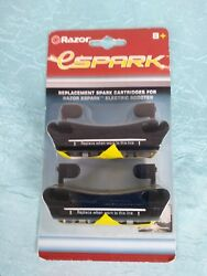 Razor ESpark Replacement Spark Cartridges 2 pack for Razor Electric Scooter