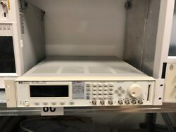 Hp / Agilent 81110a With One 81112a Output Module 330 Mhz Pulse Signal Generator