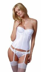 Dominique Juliette Satin Tricot Corset Bridal Torsolette 8950