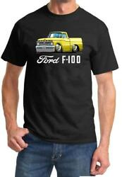 1966 Ford F100 F-100 Pickup Truck Full Color Tshirt NEW FREE SHIPPING